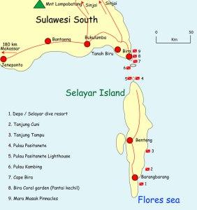 Selayar-map